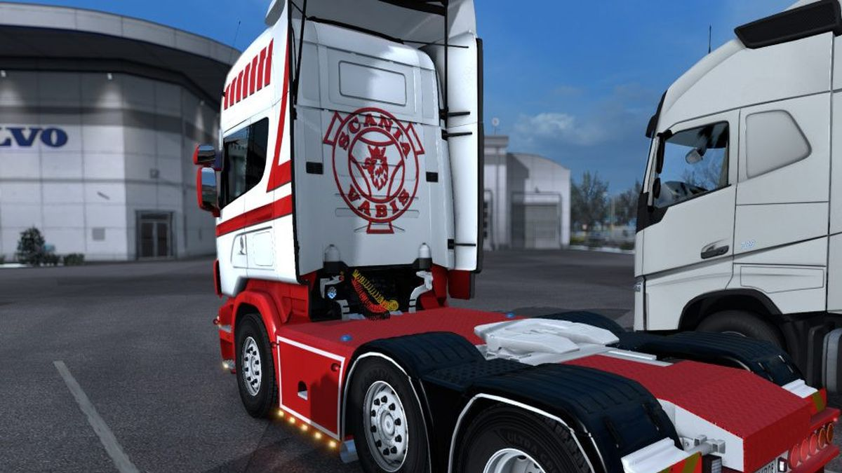 4 Series Dutch Red Skin for Scania RJL