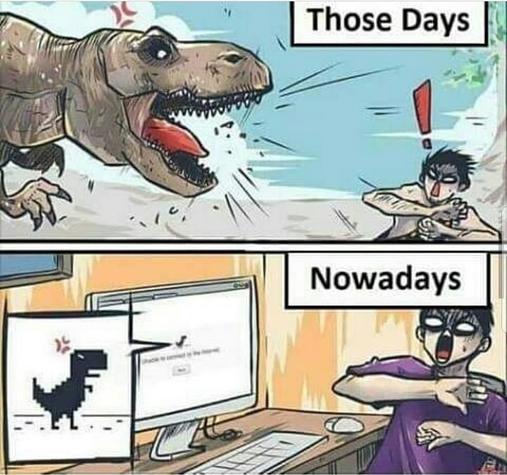 When No Internet occurs!!