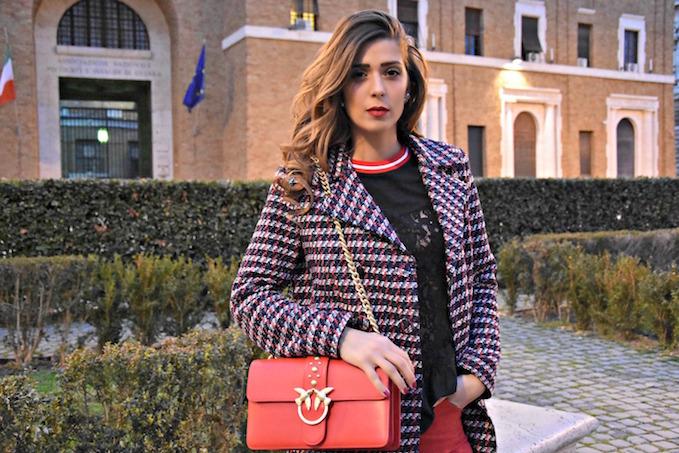 mfw: il mio look firmato pinko alla settimana della moda di milano