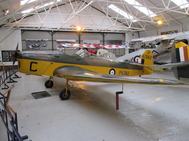 1/144 Shuttleworth diecast metal aircraft miniature Miles Magister