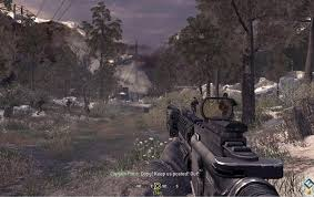 تحميل لعبه call of duty 4 modern warfare للكمبيوتر