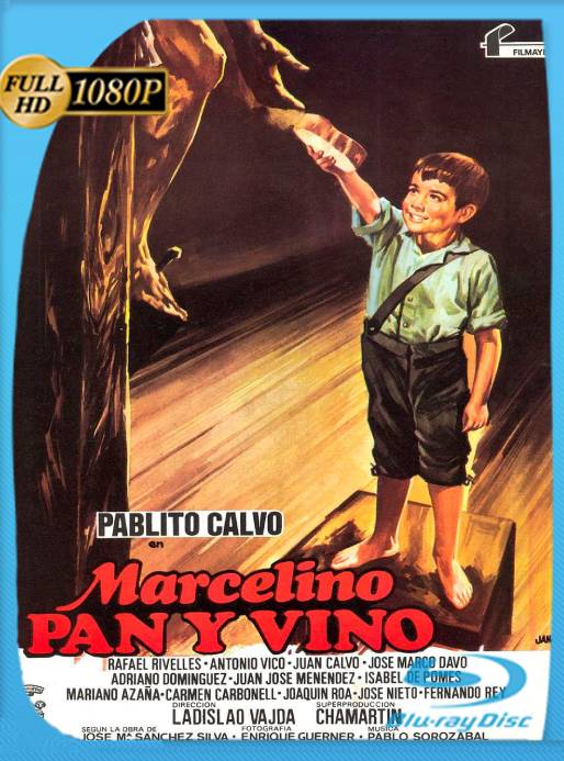 Marcelino, Pan y Vino (1954) BRRip [1080p] [Castellano] [GoogleDrive] [RangerRojo]