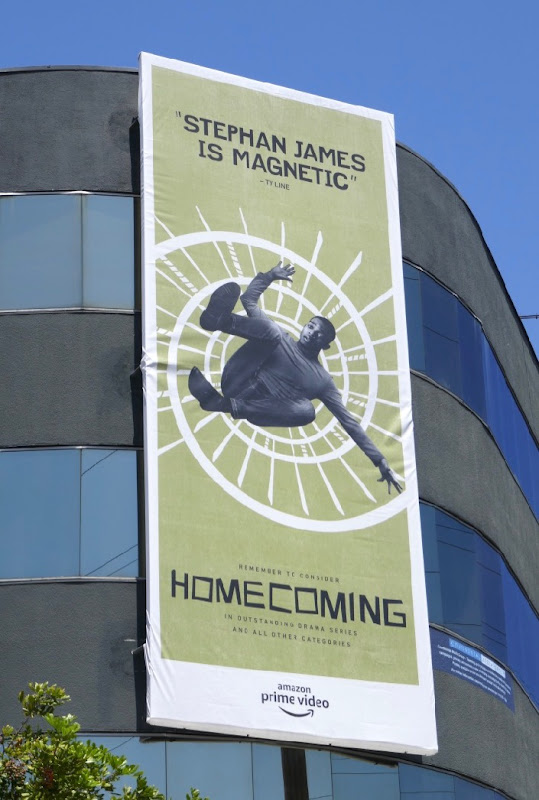 Stephan James Homecoming 2019 Emmy FYC billboard