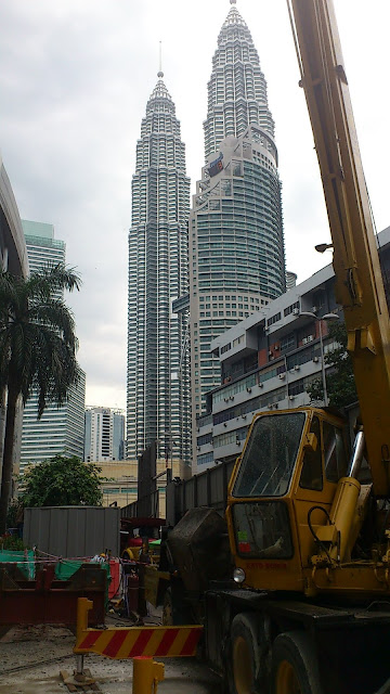 Iaq-Klcc Gas District Cooling Centre - 05 Scaffold Erection