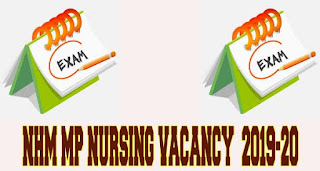 NHM Madhya Pradesh Staff Nurse Vacancy 2019
