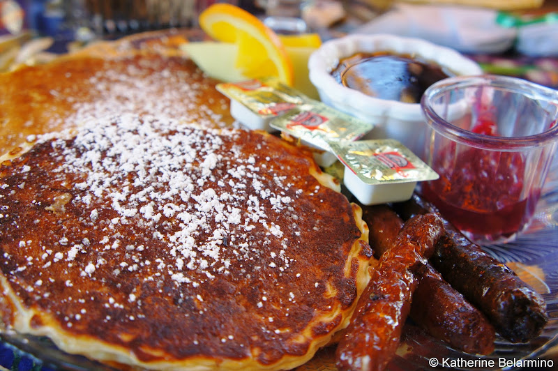 The Garden Cafe Swedish Oatmeal Pancakes Yuma Arizona