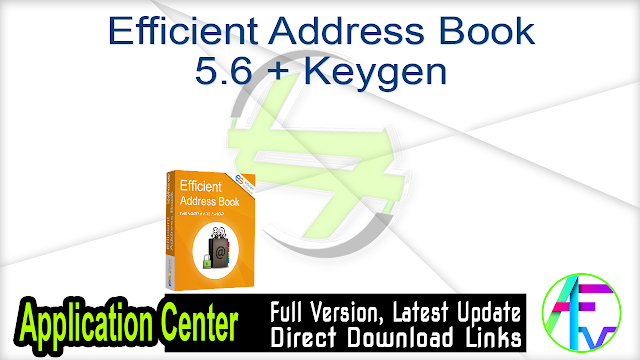 Efficient Address Book 5.6 + Keygen