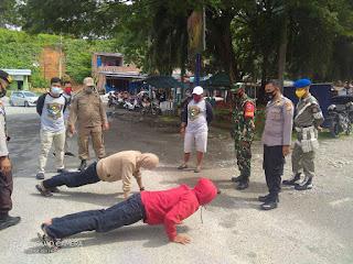 Personil Gabungan, Gelar Operasi Yustisi Dipasar Sentral Masamba