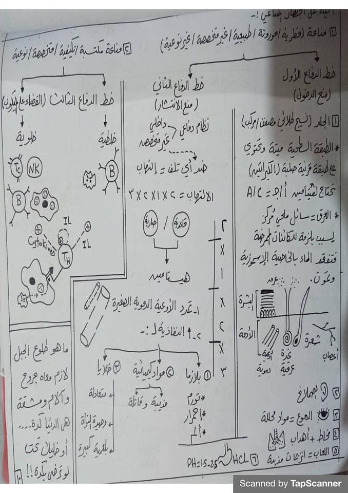 مراجعة المناعة أحياء للثالث الثانوي مستر محرم 10