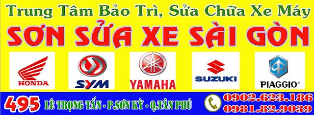 Trung tâm Sửa Xe Sài Gòn chuyên sửa chữa xe máy tại TpHCM