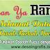 Desain Banner Marhaban ya Ramadhan cdr