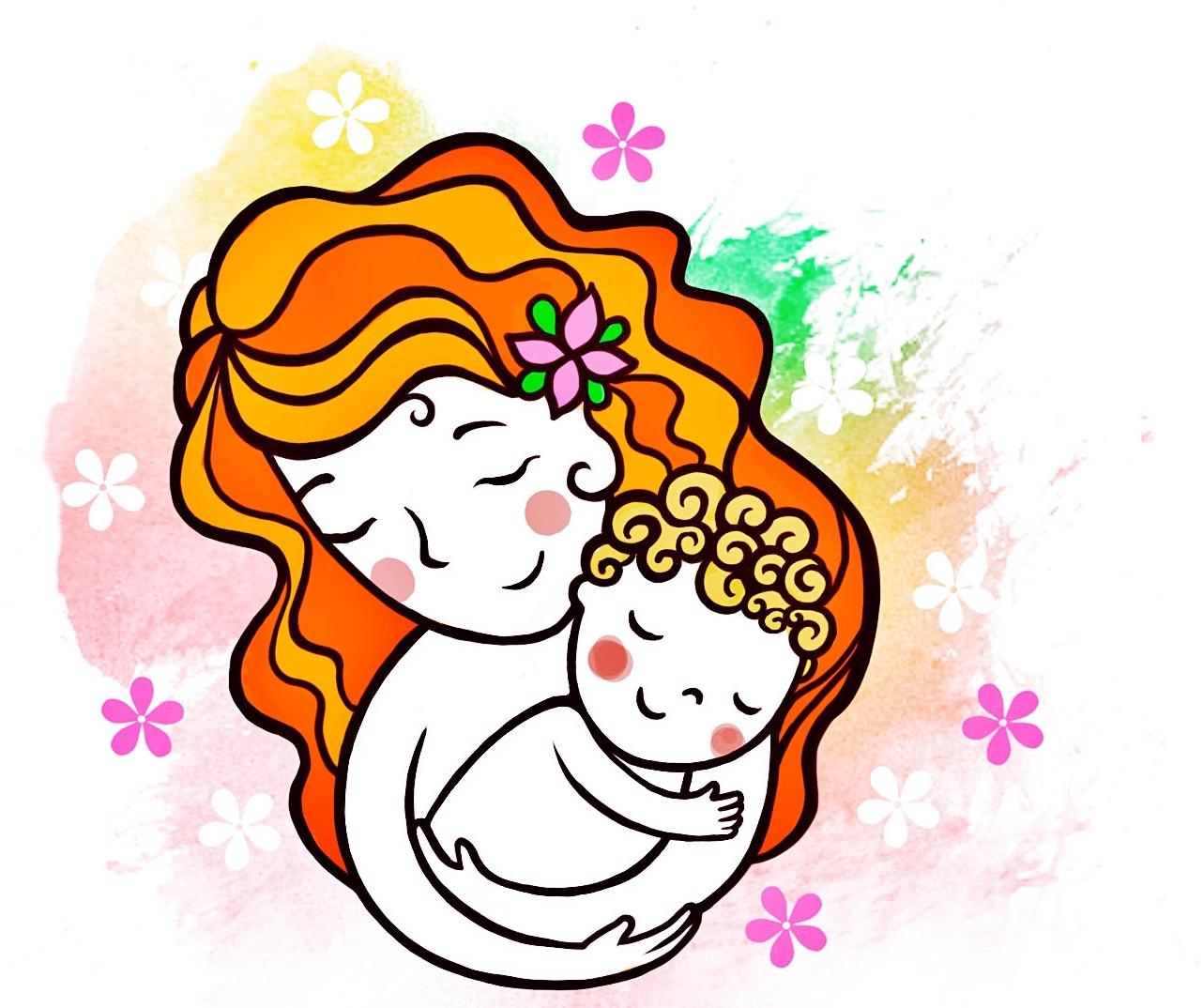 День матери картинки рисунки для детей, морскими свинками