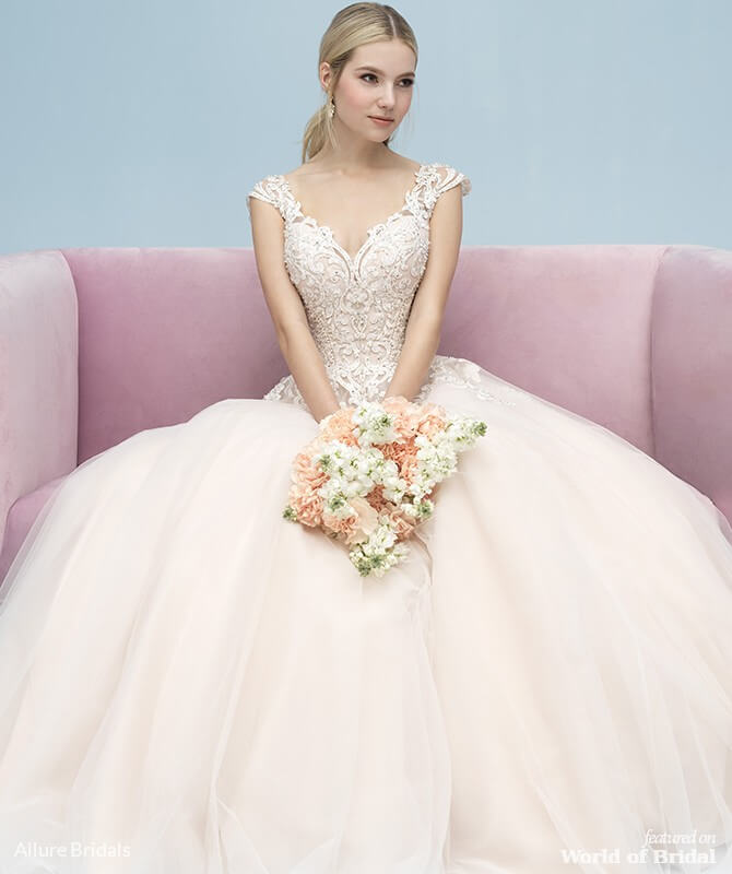 Allure Bridals Spring 2019 Wedding Dresses