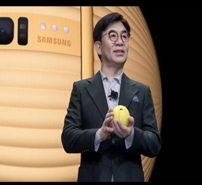Samsung Company Introduces Robot Ball 'Belly', Will Operate Home in the absence of User