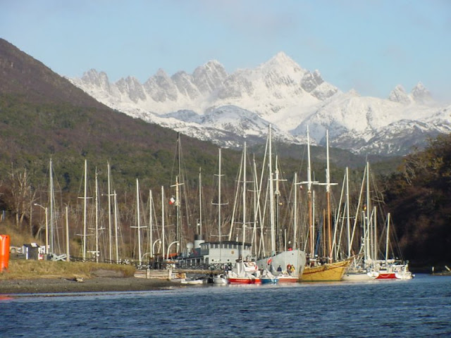 """Micalvi"" Yacht Club - Puerto Williams, Chile."