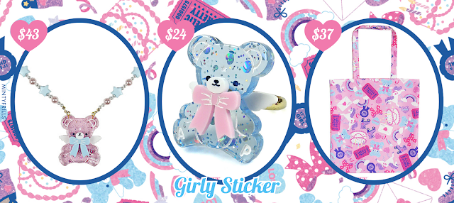 Girly Sticker Angelic Pretty Print Release