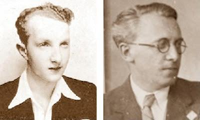 Los ajedrecistas Alexander Koblenz y Viktor Kahn