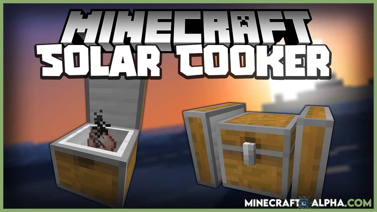 Solar Cooker Mod For 1.16.5