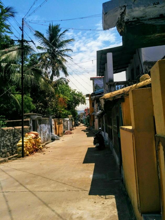 Canal street of Kallidaikurichi, Tamil Nadu