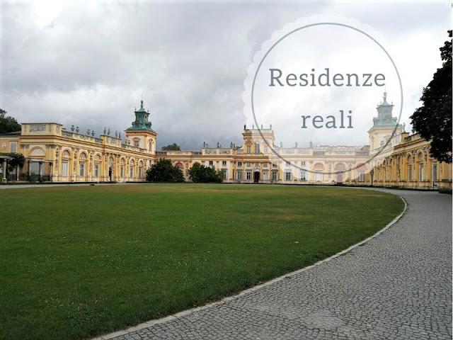 Le residenze reali di Varsavia: Wilanów