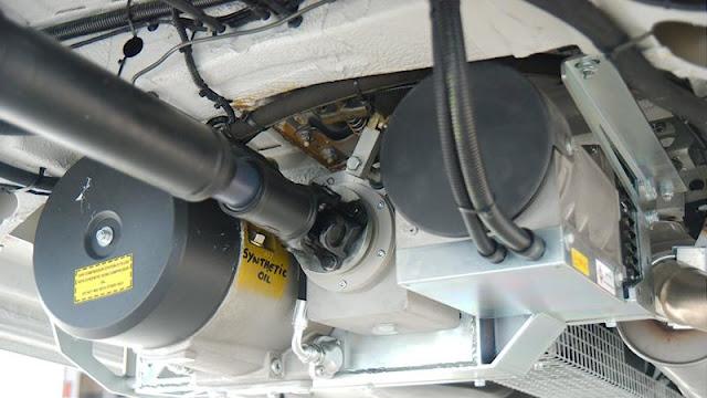 PTO + compressor + generator onderbouw