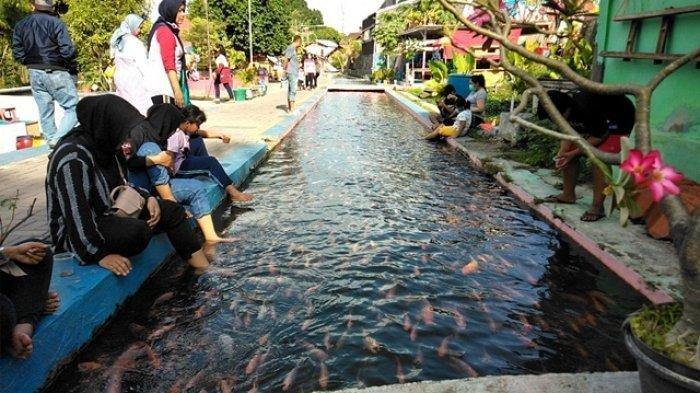 Kampanye Gemar Makan Ikan DI Bendung Lepen