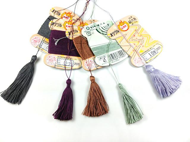 Tassels made with Silk Thread