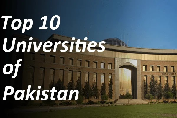 Top 10 universities of Pakistan in 2020-2021