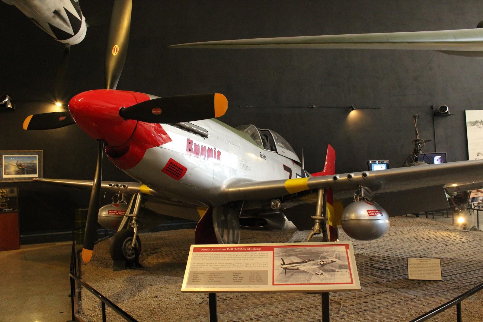 P-51 Mustang — музей авиации и космонавтики (Сан-Диего)