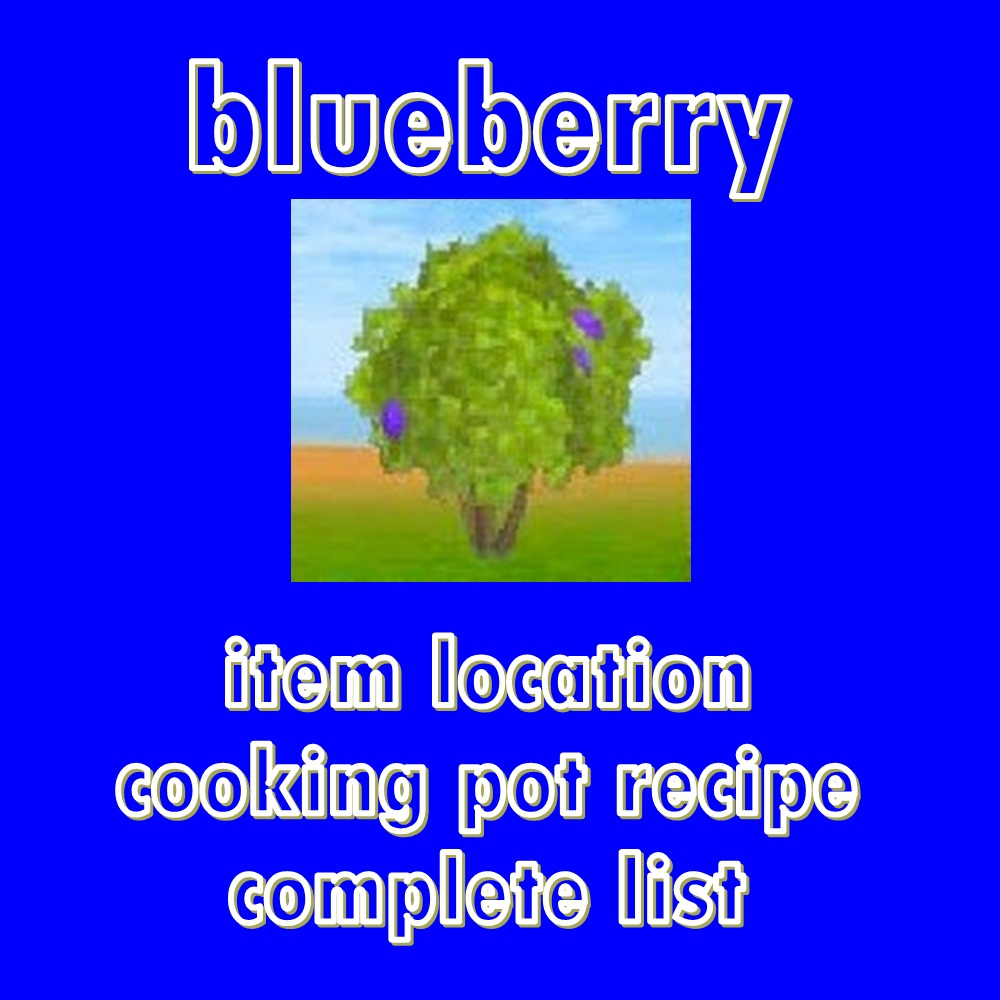 blueberry location utopia: origin
