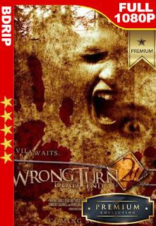 Camino Hacia el Terror 2 Final mortal (Wrong Turn 2: Dead End) (2007) [1080p BDrip] [Latino-Inglés] [LaPipiotaHD]
