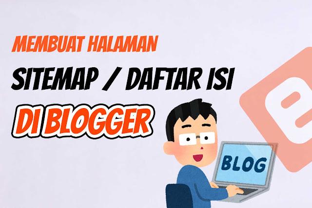 Cara membuat Halaman Sitemap di Blogger