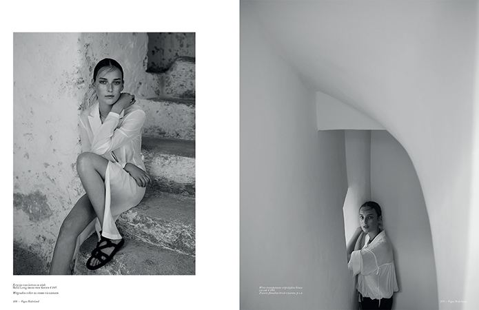 Julia Bergshoeff by Annemarieke van Drimmelen for Vogue Netherlands June 2016