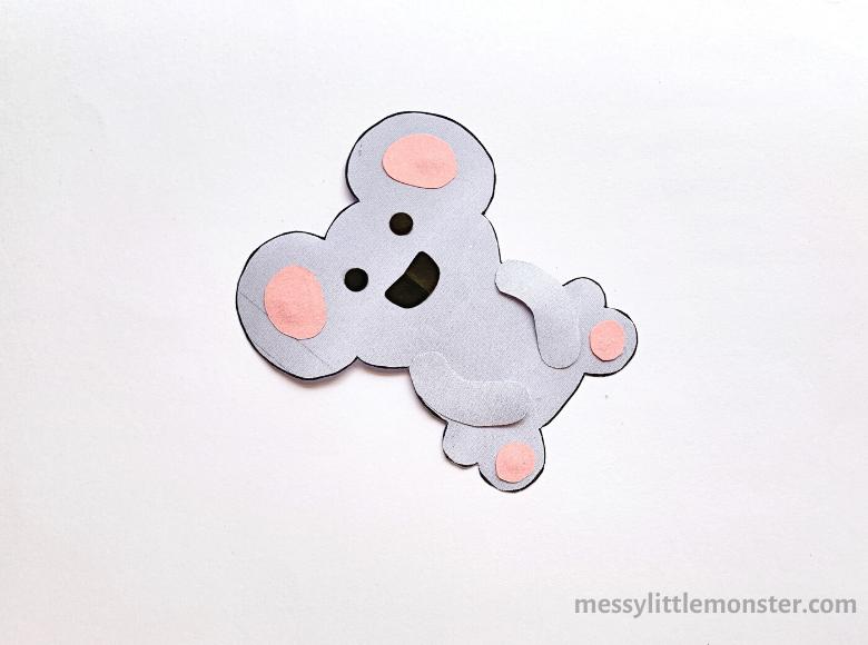 paper koala craft