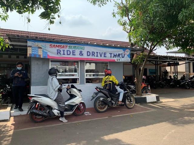 Samsat Drive Thru Subang, Cara Aman Bayar Kendaraan Efektiv dan Efisein.