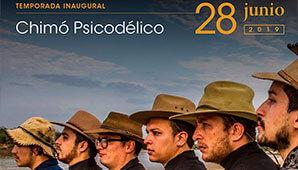 Concierto Acustico de Chimo Psicodelico en Bogotá