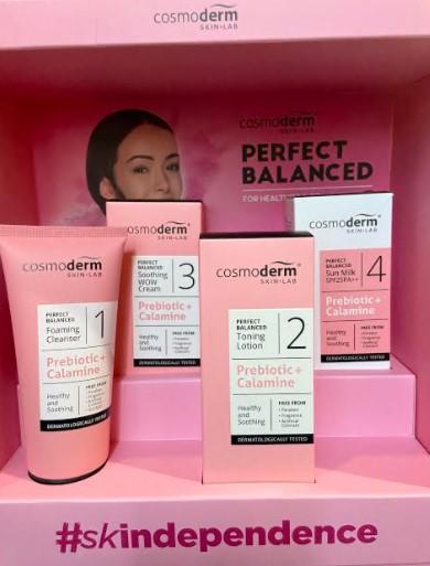 penjagaan kulit wajah, kecantikan, cosmoderm, produk untuk wanita