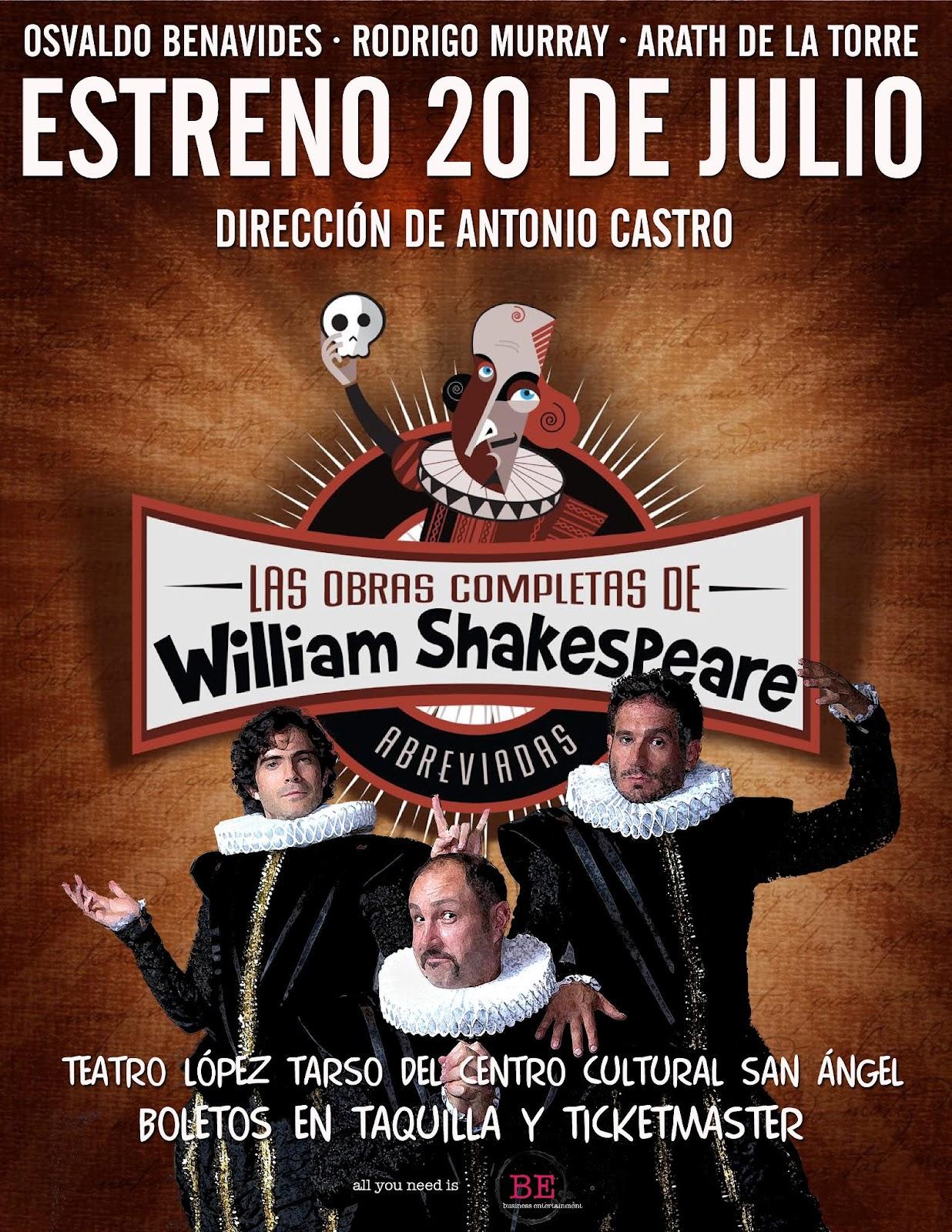 Las Obras Completas De William Shakespeare Abreviadas