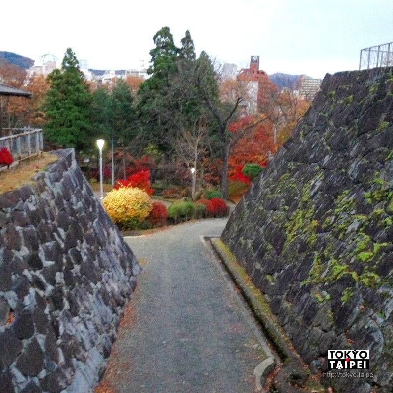 【盛岡城】盛岡市中心 只剩石垣外牆的古城