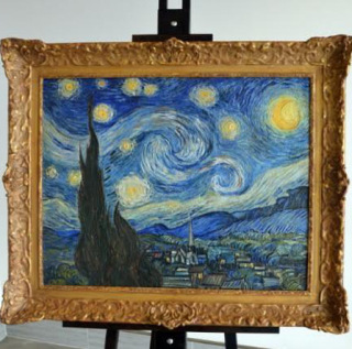 """""""Звёздную ночь"""" Ван Гога напечатали в 3D-формате"""