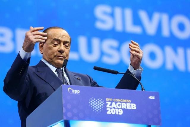 اصابة رئيس الحكومة الايطالية السابق سيلفيو برلسكوني بفيروس كورونا