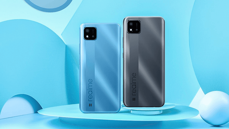 realme C20 with Helio G35 and 5,000mAh battery announced