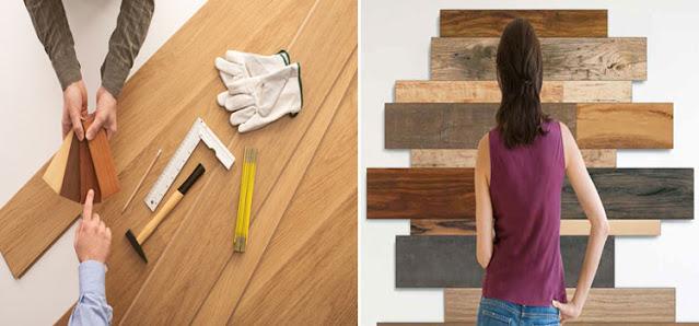 Memilih bahan material tangga