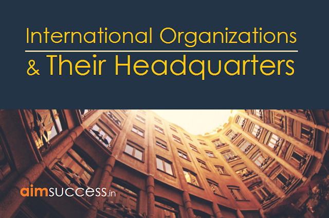 International Organizations & Their Headquarters