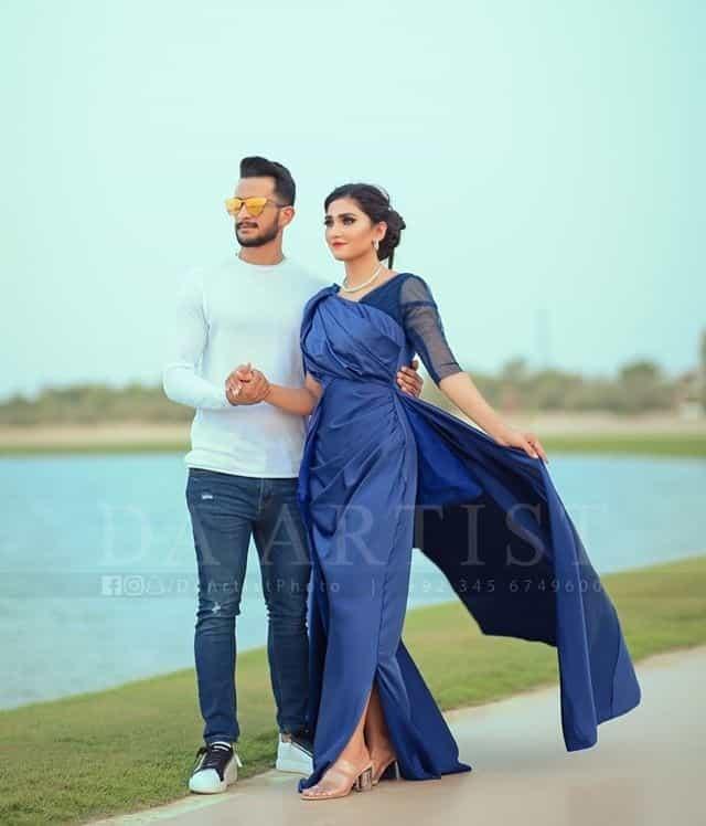 Hassan Ali and Samyah Arzoo 1st Wedding Anniversary Ethereal Photoshoot