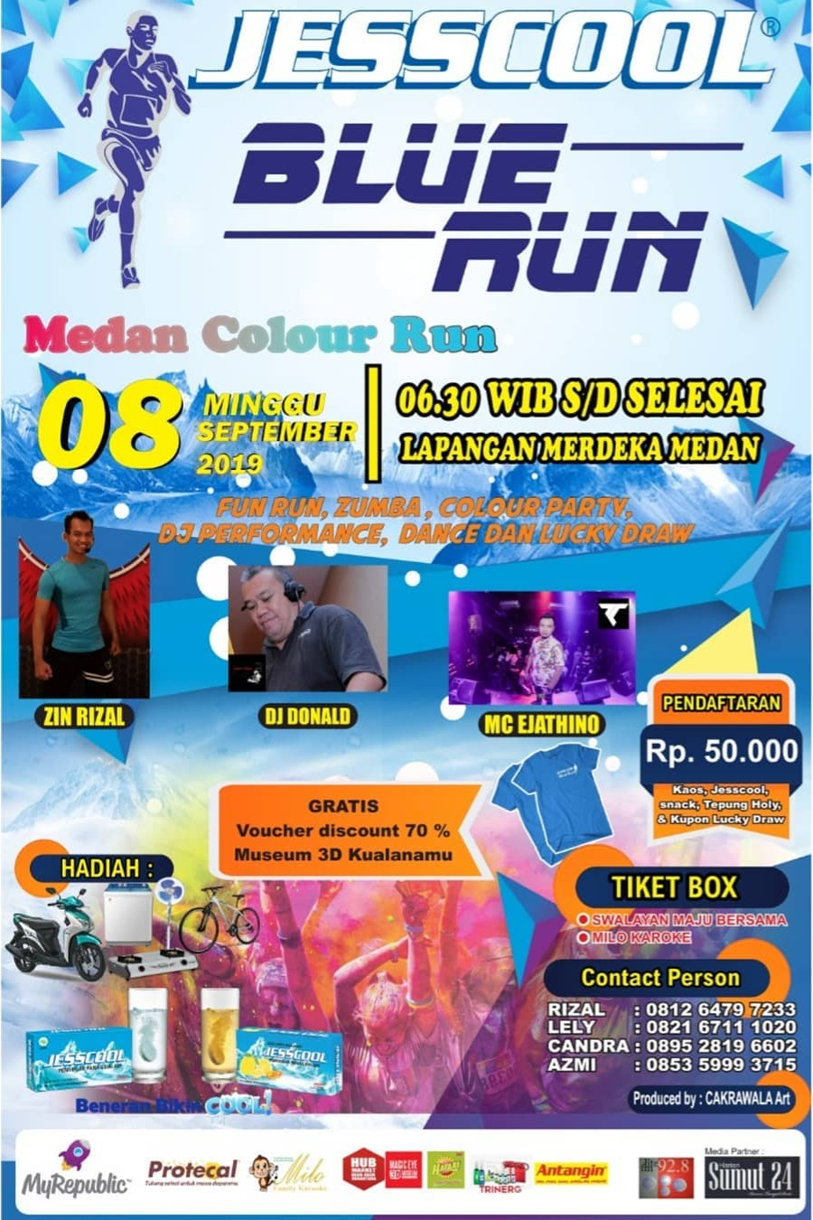 Jesscool Blue Run - Medan • 2019