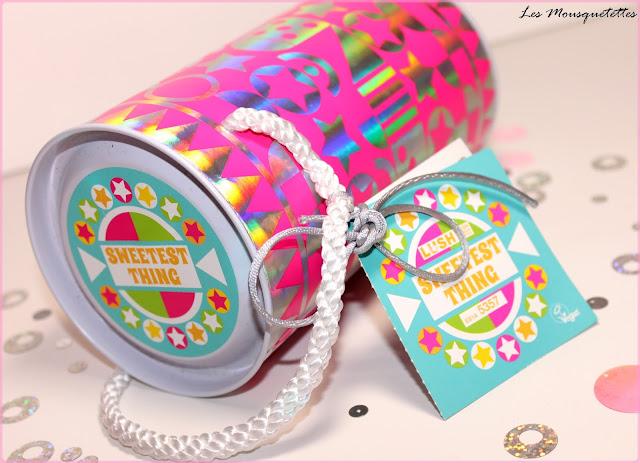Coffret cadeau Sweetest Thing LUSH - Les Mousquetettes©