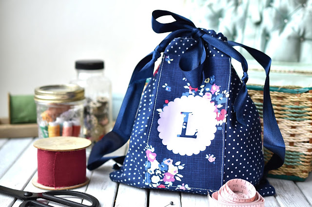 Easy DIY Drawstring Bag Sewing Project