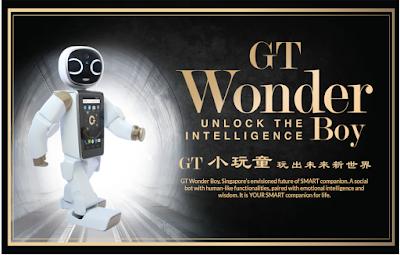 GT Wonder Boy Robot Pertama Keluaran GT Group Malaysia