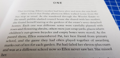 Ellen Lives On by Lynda Haddock young peoples novel about surviving suicide of a parent extract from first page